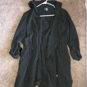 HM army green utility jacket
